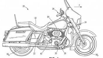 Moto - News: Harley Davidson brevetta il compressore 'scorrevole' per il suo 'V2'