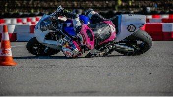 Moto2: Tony Arbolino: giù di...testa per gli allenamenti