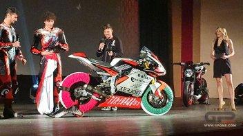 Moto2: PHOTO - New Forward MV Agusta F2 for Baldassarri and Corsi's