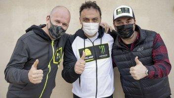 Moto3: VR46 in the CIV: Pietro Bagnaia is team manager, Surra and Bartolini the riders