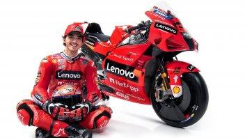 "MotoGP: Bagnaia: ""I take up Dovizioso's baton, but only Stoner won with Ducati"""