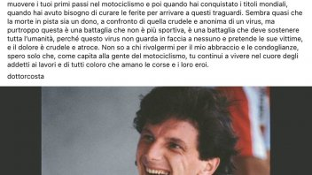 """MotoGP: Doctor Costa's farewell to Gresini: """"I feel like a father without a son."""""""