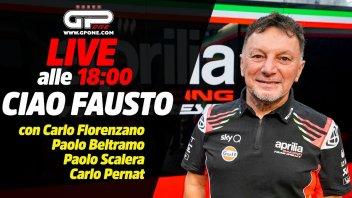 MotoGP: LIVE - Ciao Fausto: alle 18:00 il nostro saluto al grande Gresini