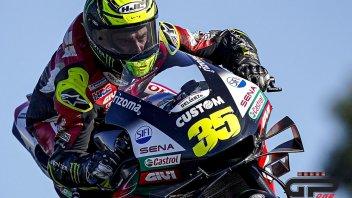 MotoGP: Cal Crutchlow 'eyes wide open': in pista non batte ciglio per tre minuti!