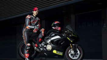 """MotoGP: Bagnaia: """"Sensations on the Panigale V4S similar to those with the Ducati MotoGP"""""""