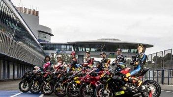 MotoGP: TUTTE LE FOTO - Jerez è rossa: i piloti Ducati sulle Panigale V4