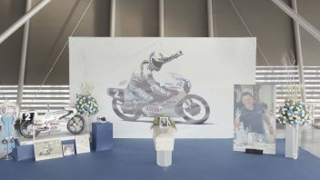 """MotoGP: A final embrace for Fausto Gresini, Capirossi: """"It's hard to find friends like him in life."""""""