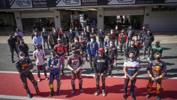 MotoGP: Barcelona: Already a World challenge with half a paddock on the track!