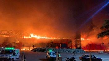 MotoGP: ULTIM'ORA - Un incendio devasta il circuito di Termas de Rio Hondo in Argentina