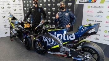 MotoGP: Bastianini e Marini: ecco la prima volta sulle Ducati del team Avintia