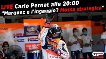 """MotoGP: LIVE - Carlo Pernat alle 20:00 - """"Marquez e l'ingaggio: mossa strategica"""""""