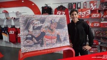 "MotoGP: Marquez riceve un regalo speciale e promette: ""Più sorrisi nel 2021!"""