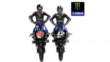MotoGP: Ecco le Yamaha M1 di Fabio Quartararo e Maverick Vinales