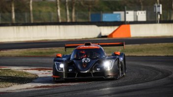 News: Mattia Pasini dreams of Le Mans, in action with the LMP3
