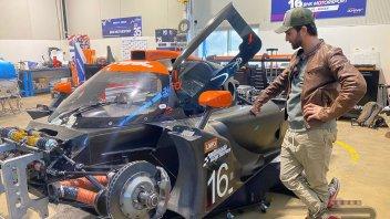 News: Mattia Pasini: A four-wheeled future in Endurance?