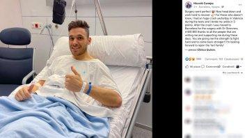 """SBK: Niccolò Canepa rassicura i fan: """"Operazione perfettamente riuscita"""""""