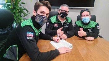 SBK: Lucio Pedercini affida la seconda Kawasaki a Samuele Cavalieri