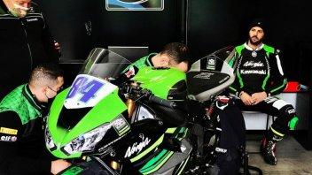 SBK: Michel Fabrizio è tornato! Eccolo in azione a Vallelunga