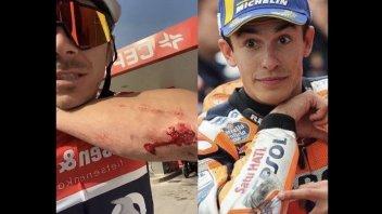 SBK: Redding falls on bike due to Marc Marquez' fault