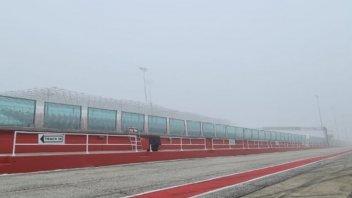 SBK: Misano: la nebbia complica i test Superbike Ducati
