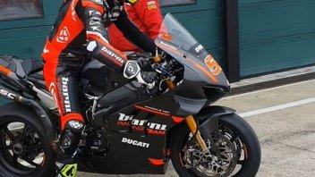SBK: Misano: ecco Tito Rabat al debutto sulla Ducati V4