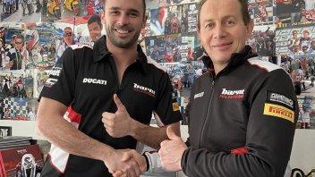 SBK: Luca Salvadori nel National Trophy 1000 con Barni Racing Team