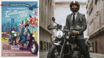Moto - News: Triumph Motorcycles e The Distinguished Gentleman's Ride: appuntamento il 23 maggio