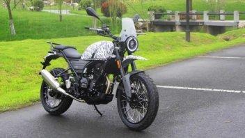 """Moto - News: Hanway G30: la copia """"Made in China"""" della Royal Enfield Himalayan"""