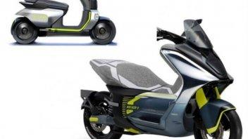Moto - Scooter: Husqvarna: lo scooter elettrico E-01 arriverà nel 2022