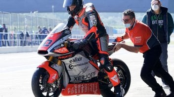 Moto2: Tommaso Marcon in Qatar in place of the injured Corsi on the MV Agusta
