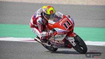Moto3: Qatar, FP3: Garcia porta la GasGas al comando, Migno è 2°