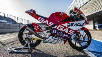 Moto3: FOTO E VIDEO - Ecco la nuova GasGas del team Aspar