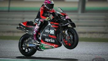 """MotoGP: A. Espargarò: """"Sono felice, abbiamo dimezzato il distacco dai primi"""""""