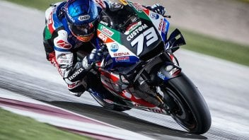 """MotoGP: Alex Marquez: """"Without a crew chief. After an accident: I'm fast."""""""