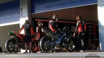 MotoGP: EXCLUSIVE - Photo of the Aprilia RS-GP 2021 prototype in the Jerez tests