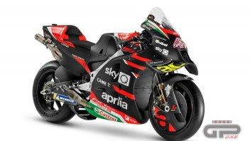 MotoGP: Ecco l'Aprilia RS-GP 2021: l'ex Ferrari Marmorini ha sviluppato il motore