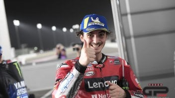 """MotoGP: Bagnaia delighted to give Valentino Rossi the slipstream """"but it wasn't planned"""""""