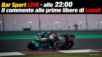 MotoGP: LIVE - Bar Sport alle 21:30 - Le prime libere MotoGP a Losail