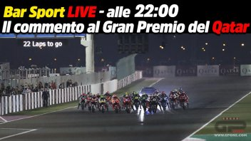 MotoGP: LIVE - Bar Sport alle 22:00 - Il commento al Gran Pemio del Qatar