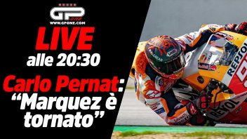 MotoGP: LIVE - Carlo Pernat alle 20:30 - Il ritorno di Marc Marquez
