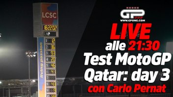 MotoGP: LIVE - Carlo Pernat alle 21:30 - il terzo giorno di test MotoGP in Qatar