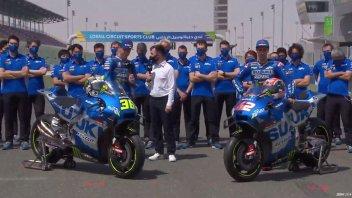 MotoGP: LIVE - Suzuki guadagna il graffio Monster sulla GSX-RR: le prime immagini