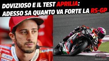 MotoGP: Dovizioso e Aprilia: Losail ha confermato che la RS-GP non è un bluff