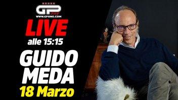 MotoGP: LIVE - Guido Meda ospite della nostra diretta alle 15:15