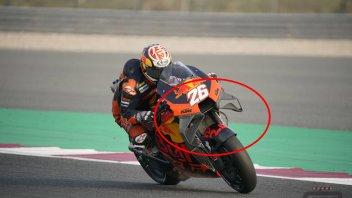 MotoGP: KTM lavora sulla RC16 allargando le ali: nuova aerodinamica per Pedrosa