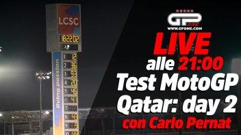 MotoGP: LIVE - Carlo Pernat alle 21:00 - il secondo giorno di test MotoGP in Qatar