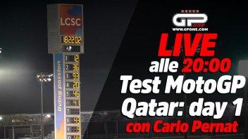 MotoGP: LIVE - Carlo Pernat alle 20:00 - il primo giorno di test MotoGP in Qatar