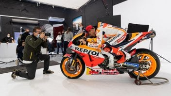 MotoGP: Behind the scenes of the Honda presentation with Marquez and Espargarò
