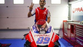 "MotoGP: Martin's Vlog: ""The Ducati isn't a beast, I think it's docile"""