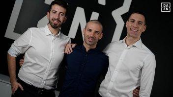 """MotoGP: Melandri e Rolfo in carena su DAZN: """"il nostro favorito è Quartararo"""""""